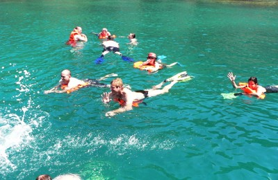 four islands tour in Nha Trang