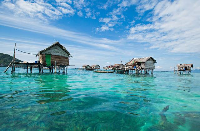the peaceful coastal fishing village